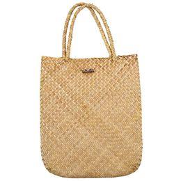 $enCountryForm.capitalKeyWord NZ - FGGS Summer Beach Bag Rattan grass Weaved Casual Tote Shopping Handbags Women Travel Tourist Storage Bag Shoulder Bag(Yellow)