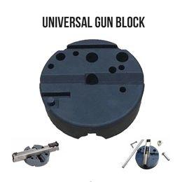 Black Blocks Australia - Universal Gunsmithing Bench Block Handgun Pistol M1911 Ruger 10 22s Style Reassemble Firearm Assembly Bench Block
