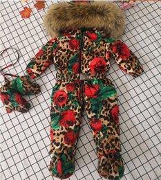 collar de lujo de invierno por la chaqueta de la piel de los niños grande por la chaqueta de la marca de pato de una sola pieza capa gruesa cazadora v1 juego de la nieve chica chico en venta