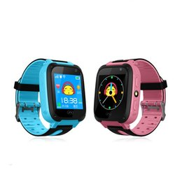 waterproof wrist camera Australia - Q9 Smart Watch Children Wrist Watch Waterproof Baby Watch Band With Remote Camera SIM Calls Gift For Kids pk DZ09 A1 SmartWatch