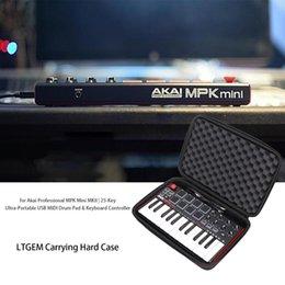 Опт LTGEM Жесткий чехол для Akai Professional MPK Mini MKII MPK Mini Play   25-клавишный USB MIDI контроллер барабанной клавиатуры
