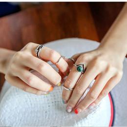 $enCountryForm.capitalKeyWord Australia - AE-CANFLY European Personality Hollow 5 pcs  set Rings Set for Women Bohemian Finger Jewelry