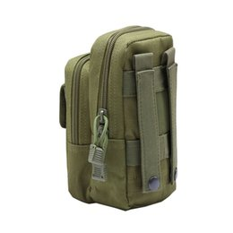 tactical outdoor equipment UK - Nylon Tactical Molle Waist Pack Tools Utility Sundries Pouch Equipment Packs Bags Outdoor Bags