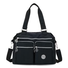 $enCountryForm.capitalKeyWord Australia - Women Messenger Bags Shopping Travel Handbags Nylon Ladies Shoulder Bags Female Tote Handbag Casual Large Crossbody Bag