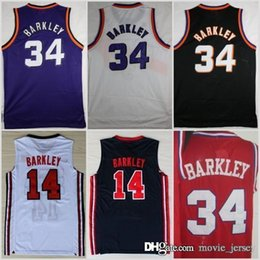 $enCountryForm.capitalKeyWord Canada - 1992 HOT Dream Team One 14 Charles Barkley Pho Jersey Fashion #34 Shirts Uniforms Red Black Purple White Navy Blue
