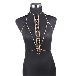 $enCountryForm.capitalKeyWord UK - Women Nightclub Party Body Chain Jewelry Bikini Waist Gold Belly Beach Harness Slave Necklace#8