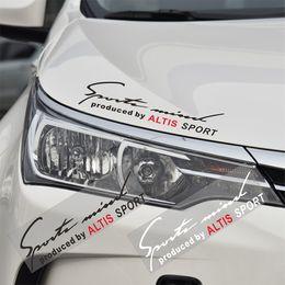 Sticker Badges Personalized Australia - Car ALTIS The car Body Emblem Badge AUTO Sticker Decal For Toyata