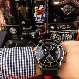 $enCountryForm.capitalKeyWord NZ - luxury mens watch VK64 chronograph Wristwatches full Stainless steel comfort mesh belt 5 ATM waterproof luminous pointer Montre de luxe