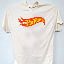 hot wheels black 2019 - HOT WHEELS, 60's Logo, Classic, RETRO,T-SHIRT, All Sizes, S-5XL, T-880Ivy, L@@K! Funny free shipping Unisex Casual