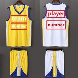 11c8958afd91 Quality Designer Kids Clothing Sets Boys Girls Suit Children TShirts+Shorts  Customized Student Mens Team Basketball Jerseys 100-190cm XZT043