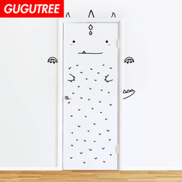 $enCountryForm.capitalKeyWord Australia - Decorate Home 3D cats animal cartoon wall door sticker decoration Decals mural painting Removable Decor Wallpaper G-812