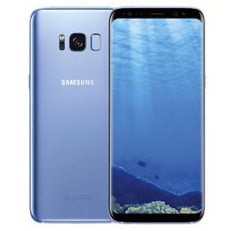 "Discount unlocked 4g lte cell phone - Samsung Galaxy S8 S8 Plus Original Unlocked refurbished 4G LTE Android Phone Octa Core 6.2"" 12MP RAM 4GB ROM 64GB C"