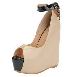 1f7a05ee04bb Nude eveNiNg shoes high heels online shopping - Zandina New Handmade Ladies  New Wadge Heel Sandals