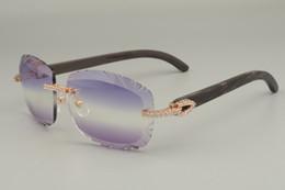 19 Jahre neue natürliche gemischte Horn- / Schwarzhorn-Sonnenbrille, 8300715, personalisierte Diamant-Brillenglas-Sonnenbrille, Größe: 58-18-140mm
