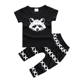 $enCountryForm.capitalKeyWord Australia - Baby Boys Clothing Sets Summer Boy Clothes Cute Cartoon Print T -Shirt +Pants 2pcs Child Suits Hot Sale Toddler Sportswear