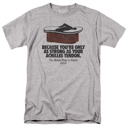 China Impractical Jokers Brick Flop Licensed Adult T Shirt Funny free shipping Casual Tshirt top cheap joker brick suppliers