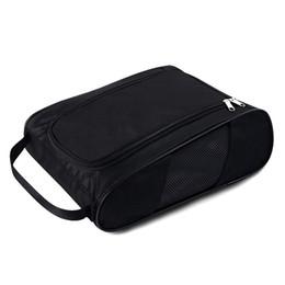$enCountryForm.capitalKeyWord Australia - Golf Shoes Bag Breathable Portable Water Resistant Zipper Shoe Case Carrier shoe accessory