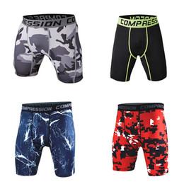 Wear Compression Shorts Australia - Men's Compression Wear Under Base Layer Pants Tights
