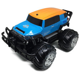 remote control off road vehicles 2019 - 1:10 4WD All-terrain Amphibious Monster Truck 12km h Speed Bigfoot Car Remote Control Model Off-Road Vehicle RC Car Toys