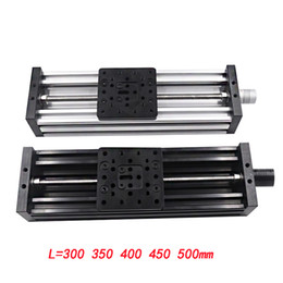 printer lead NZ - 3d printer Z-axis lead screw T8 Z axis diy c-beam CNC sliding table 300 350 400 450 500mm linear actuator bundle kit