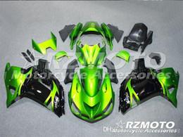 $enCountryForm.capitalKeyWord UK - 3 Free gifts New ABS bike Fairing Kits 100% Fitment For Kawasaki Ninja ZX14R 2006 2009 2011 10R 06 07 08 09 10 06-11 Green Black V6