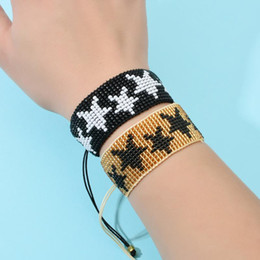 Discount armband jewelry women - Retro Delica MIYUKI Bracelet 5 Star Bracelets For Women Armband 2020 Pulseira Mujer Handwoven Women Boho Chic Summer Jew
