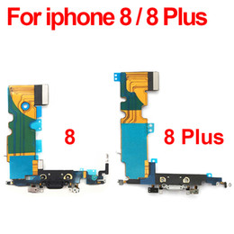 Iphone Dock Connector Australia - Original Charger Charging Port USB Dock Connector Flex Cable For iPhone 8 8G Plus Headphone Audio Jack Replacement