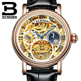$enCountryForm.capitalKeyWord Australia - Switzerland wholesale Men Watch Big Mechanical Watch tourbillon Leather Strap Moon phase Sapphire Waterproof Automatic Watches