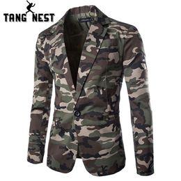$enCountryForm.capitalKeyWord Australia - Tangnest 2019 Camouflage Color New Design Spring Autumn Men Casual Blazer Hot Sale Fashion One Button Asian Size Suits Mwx309 Y190418