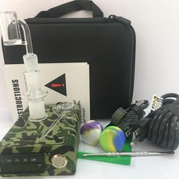 $enCountryForm.capitalKeyWord Australia - Portable Enail kits e nail dab bongs electric dabbing PID temp controller with Ti Titanium Gr2 nails Kalver coil heater for water glass bong