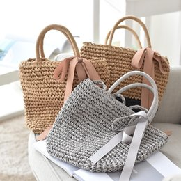 $enCountryForm.capitalKeyWord Australia - 2019 Women Vintage Beach Straw Bag Ladies Handmade Woven Rattan Messenger Handbag Summer Bali Bohemian Crossbody Shoulder Bag ST407