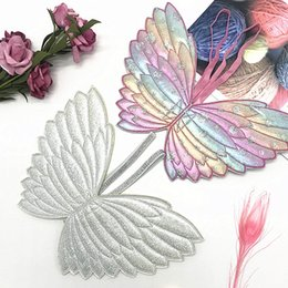 Kids costume angel wings online shopping - Angel Wings Baby Fairy Costume Props for Kid Girls Birthday Gift Halloween Party Laser Butterfly Wings