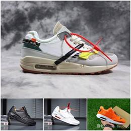 Flat Jewels Australia - Cheap 1 Premium Running Shoes 2018 For Men Women Sneakers 87 force Cushion GUAVA ICE 1 Parra Jewel Sport Shoes 36-45