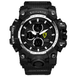 high end sports watches Canada - Student digital watch Fashion men's high-end watches Outdoor sports Multifunction Luminous   waterproof Quartz ladies watch universal