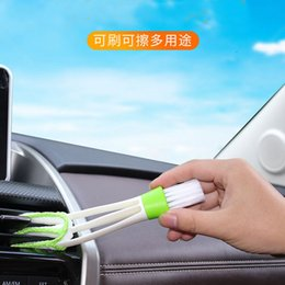 Keyboard instrument online shopping - Air Outlet Cleaning Brush of Automobile air Conditioner Shutter Cleaning tool Instrument Dust Remover Keyboard Brush Auto parts