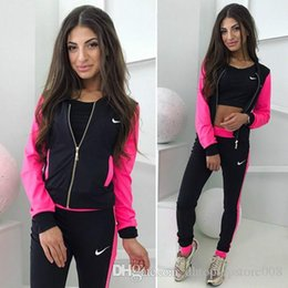 Wholesale new options sports for sale – custom New European and American Women s Sports and Leisure Printed Suit with Multicolor Options
