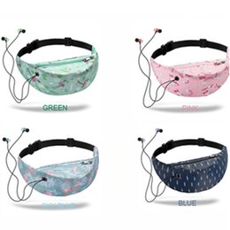 mountaineering packs Australia - IPC 3D Colorful Print women waist Bags packs Hip Belt Bags Money Travelling Mountaineering Mobile Phone Bag Waist Packs