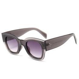 Product Brand Color Australia - Trendy product cat eye sunglasses women brand luxury Oversized sun glasses Gradient Shades designer Ladies eyewear UV400