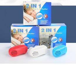 Wholesale Silicone Anti Snoring Air Purifier Stop Snoring Solution Mouthpiece Upgrade Aid Equipment Good Healthy Sleeping Anti Snoring Tool New B2143