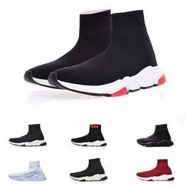01c976de35 Balenciaga Scarpe casual da uomo e da donna Zoom Slip-on Speed Trainer Low  Mercurial XI Nero Alta moda aiuto Calze scarpe Sneakers good zapatillas 2019