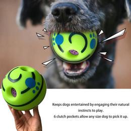 $enCountryForm.capitalKeyWord Australia - New 15cm fun fun pet toy cat and dog vocal ball toy silicone ball cat dog toy pet supplies FSD0162