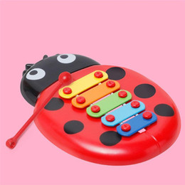 Musical Instruments Australia - Kids Ladybird Knock On Piano Keyboard Early Education Musical Instrument Toy New Kids Ladybird Instrument Toy