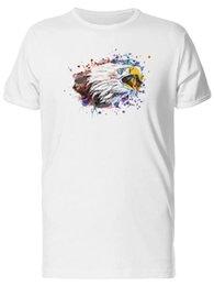 $enCountryForm.capitalKeyWord UK - Paint Blots Eagle Head Men's Tee -Image by Fashion