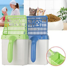 Product Easy Australia - Cat Litter Shovel Quick Easy Pet Cleaning Tool Scoop Cat Sand Cleaning Products Scoops For Cat Toilet Training Kit CCA11066 P