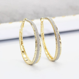 Mse Products Australia - 10pair  lots New product Unique Women Fashion Mill sand Earrings Engagement Wedding Jewerly Ms Gift 2 color