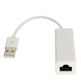 android os tablets NZ - USB 2.0 to RJ45 Network Card Lan Ethernet Adapter For Mac OS Android Tablet pc Win 7 8 10 10 100Mbps