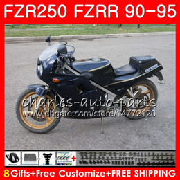 $enCountryForm.capitalKeyWord Australia - Kit For YAMAHA FZRR FZR 250 R 250R FZR250 90 91 92 93 94 95 124H.54 FZR-250 FZR250R Glossy black hot 1990 1991 1992 1993 1994 1995 Fairing