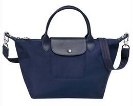 $enCountryForm.capitalKeyWord UK - New Womens Designer handbag Paris Fashion Handbags Folding Nylon Shoulder Bags Lady Waterproof Totes Woman Dumpling bag leisure package