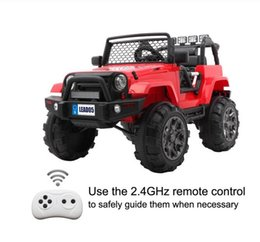 Remote Control Electric Car Dual Drive 45W * 2 Battery 12V7AH * 1 Kids Ride On Car Toys on Sale