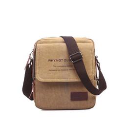 f7205720d5 2019 New Men Messenger Bags Canvas Vintage Travel Casual Military Bag  Shoulder Crossbody Bags For Man Handbags Bolso X0008
